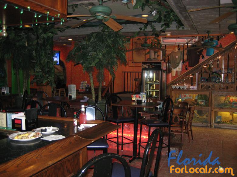 Inside Britts Laguna Grill