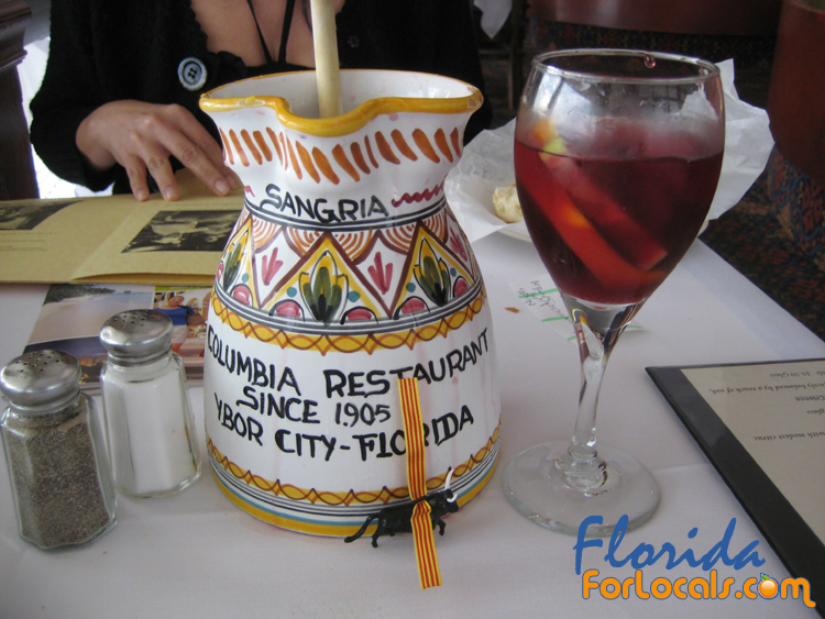 Sangria Made Table Side at the Columbia Restaurant